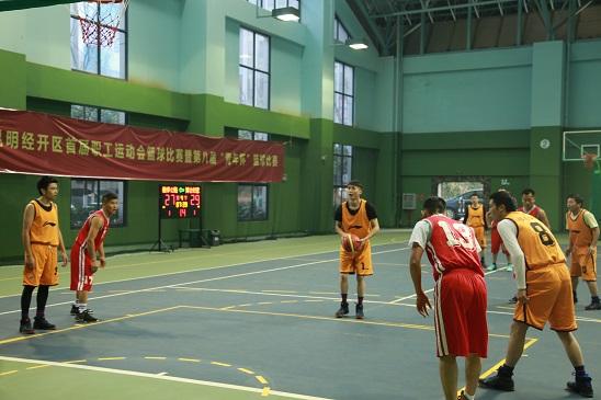 """皓泰公路""""青年杯"""" 篮球赛一胜一负2.jpg"""